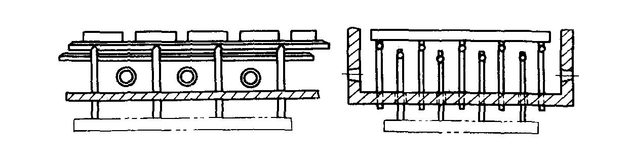 步进式加热炉的炉底结构