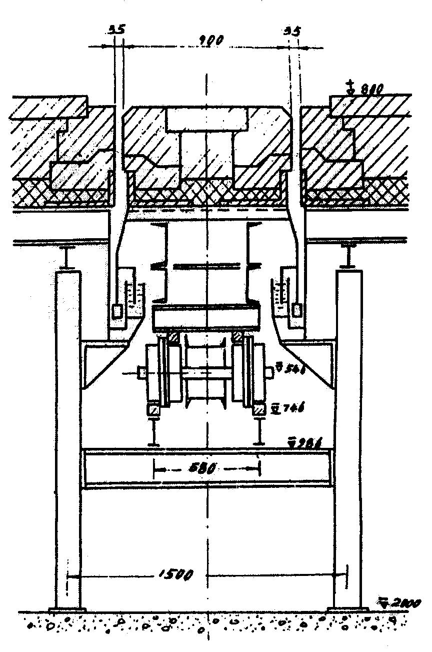 步进式加热炉结构图_步进式加热炉的 结构 的密封机构