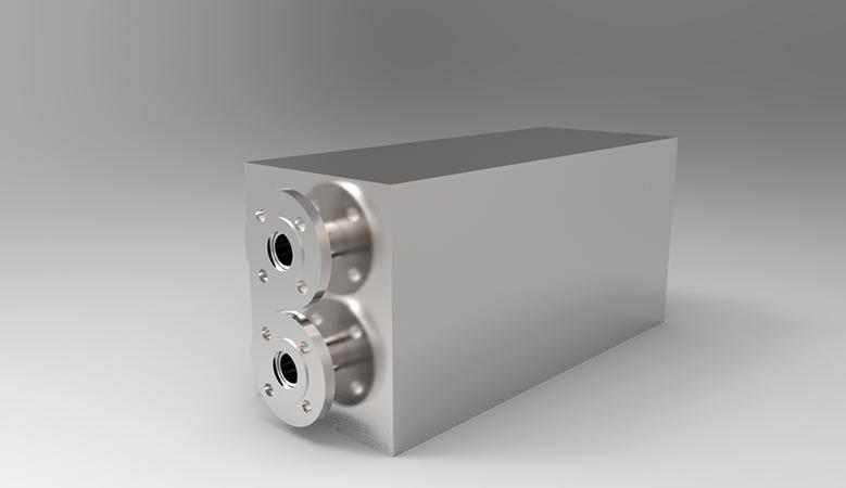 三维传导换热器
