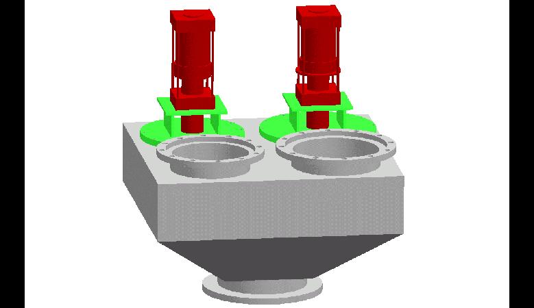 FG23V型三通快速换向阀